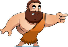 Cartoon Barbarian Angry Royalty Free Stock Photos