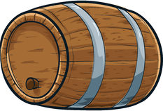 Cartoon Barrel Stock Images