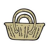 Cartoon basket Royalty Free Stock Photo