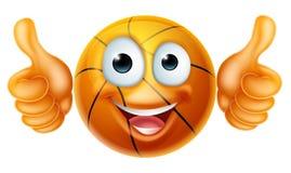 Cartoon Basketball Ball Man Character Royalty Free Stock Photos