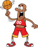 Cartoon Basketball Player Stock Image