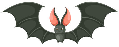 Cartoon bat stock illustration