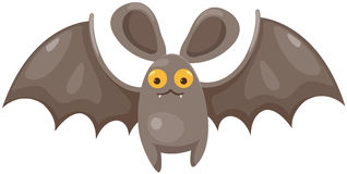 Cartoon bat Royalty Free Stock Photos