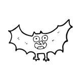 Cartoon bat Royalty Free Stock Photography