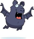 Cartoon Bat Flying Stock Photo