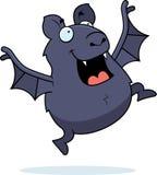 Cartoon Bat Jumping Royalty Free Stock Photography