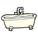 cartoon bathtub Stock Photography