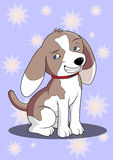 Cartoon beagle dog Royalty Free Stock Photo