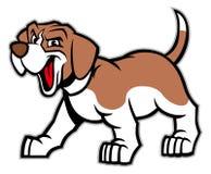Cartoon of beagle dog Stock Photography