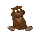 Cartoon bear Royalty Free Stock Images