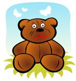 Cartoon bear Royalty Free Stock Photos