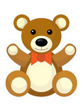 Cartoon bear - caricature Stock Images