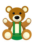 Cartoon bear - caricature Royalty Free Stock Photography