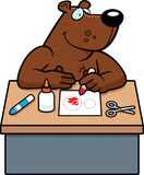 Cartoon Bear Crafts Royalty Free Stock Image