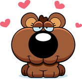 Cartoon Bear Cub Love Stock Photos