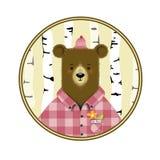 Cartoon bear Stock Image