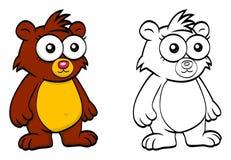 Cartoon bear Royalty Free Stock Photo