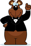 Cartoon Bear Tuxedo Royalty Free Stock Photos