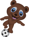 Cartoon bear Stock Photography
