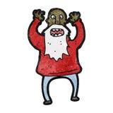 Cartoon bearded man Royalty Free Stock Photos