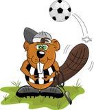 Cartoon beaver vector illustration