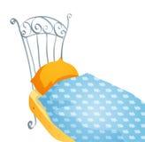 Cartoon bed Royalty Free Stock Photo