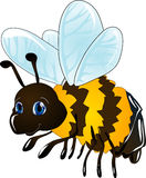 Cartoon bee Royalty Free Stock Photos