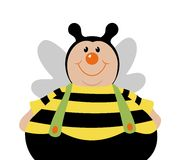 Cartoon bee Stock Images