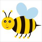 Cartoon bee. A illustration of a cartoon bee Stock Illustration