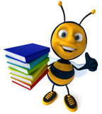 Cartoon bee Royalty Free Stock Photo