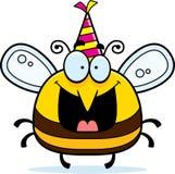 Cartoon Bee Birthday Party Stock Photography