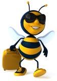 Cartoon bee royalty free illustration