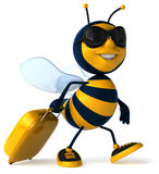 Cartoon bee Stock Photos