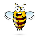 Cartoon Bee Stock Photo