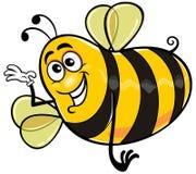 Cartoon bee 04 Royalty Free Stock Photo