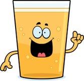 Cartoon Beer Idea Stock Images