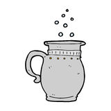 Cartoon beer tankard Stock Photography