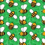 Cartoon bees Royalty Free Stock Photo