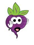 Cartoon beet character Royalty Free Stock Image
