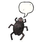 cartoon beetle Royalty Free Stock Photo
