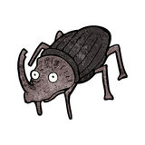 cartoon beetle Royalty Free Stock Image