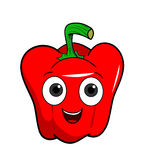 Cartoon Bell Pepper Stock Photography