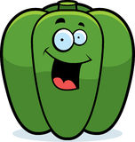Cartoon Bell Pepper Smiling Royalty Free Stock Images