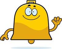 Cartoon Bell Waving Royalty Free Stock Image