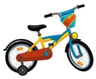 Cartoon bicycle Royalty Free Stock Photos