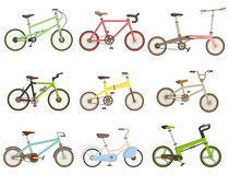 Cartoon bicycle icon Stock Image
