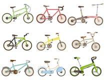 Cartoon bicycle icon. Drawing Stock Image