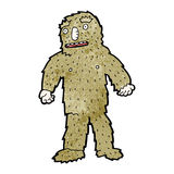 Cartoon bigfoot Stock Image