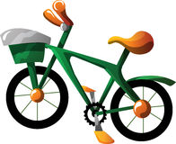 Cartoon bike Stock Images