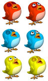 Cartoon bird Royalty Free Stock Images